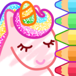 Animated Coloring for Kids – Unicorn and Princess 1.3.0 APK (MOD, Unlimited Money)