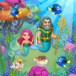 Aquarium Farm: fish town, Mermaid love story shark 1.36 APK (MOD, Unlimited Money)