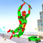 Army Robot Rope hero – Army robot games 2.1 APK (MOD, Unlimited Money)