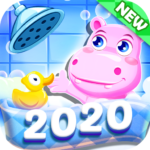 Bathe Hippo – Connect Pipes 1.0.24  APK (MOD, Unlimited Money)