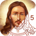 Bible Coloring – Paint by Number, Free Bible Games 2.17.0 APK (MOD, Unlimited Money)