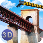 Bridge Construction Crane Sim  APK (MOD, Unlimited Money) 1.37