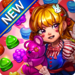Candy Amuse : Match-3 puzzle 1.9.2  APK (MOD, Unlimited Money)
