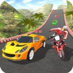 Car vs Bike Racing  APK (MOD, Unlimited Money) Varies with device