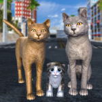 Cat Family Simulator: Stray Cute Kitty Game  APK (MOD, Unlimited Money) 10.1