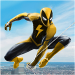 Flying Spider Rope Hero – Super Vice Town Crime 1.0.32 APK (MOD, Unlimited Money)