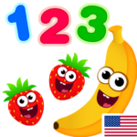 Funny Food 123! 2.3.0.18 Kids Number Games for Toddlers  APK (MOD, Unlimited Money) 2.6.0.1