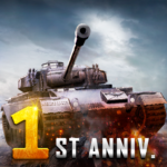 Furious Tank: War of Worlds_1st Anniversary 1.7.0  APK (MOD, Unlimited Money)