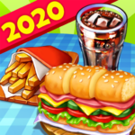 Hell's Cooking: crazy burger, kitchen fever tycoon 1.39 APK (MOD, Unlimited Money)