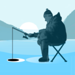 Ice fishing games for free. Fisherman simulator. 1.52 APK (MOD, Unlimited Money)