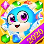 Jewel Blast Dragon Match 3 Puzzle  1.22.6 APK (MOD, Unlimited Money)