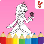 Kids coloring book: Princess 1.9.3 APK (MOD, Unlimited Money)