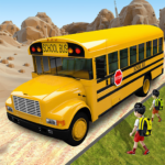 Offroad School Bus Driving: Flying Bus Games 2020  1.43 APK (MOD, Unlimited Money)