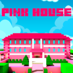 Pink Princess House Craft Game 1.1.18 APK (MOD, Unlimited Money)