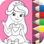 Princess Coloring Book ❤ 1.5.9 APK (MOD, Unlimited Money)