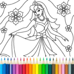 Princess Coloring Game  APK (MOD, Unlimited Money) 14.1.2