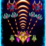 Space attack – infinity air force shooting  APK (MOD, Unlimited Money) 2.2