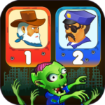Two guys & Zombies (two-player game) 1.2.4 APK (MOD, Unlimited Money)