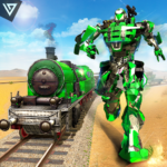 US Army Transforming Robot Train Shooter 2020 2.0.0 APK (MOD, Unlimited Money)