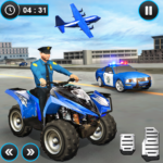 US Police ATV Quad Bike Plane Transport Game 1.1.15 APK (MOD, Unlimited Money)
