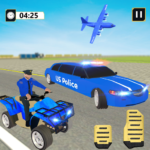 US Police Limousine Car: ATV Quad Transporter Game 1.2 APK (MOD, Unlimited Money)