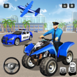 US Real Police Plane Limo Car Transporter Driving 1.3 APK (MOD, Unlimited Money)