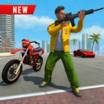 Vegas City Gangster Moto Bike Chase 2019  APK (MOD, Unlimited Money) 2