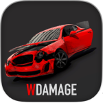 WDAMAGE: Car Crash Engine 121 APK (MOD, Unlimited Money)