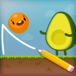 Where's My Avocado? Draw lines 20.0729.09  APK (MOD, Unlimited Money)