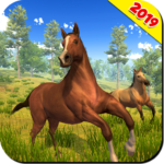 Wild Horse Family Simulator : Horse Games  APK (MOD, Unlimited Money) 1.1.7