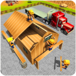 Wood House Construction Simulator 2018 1.0.7 APK (MOD, Unlimited Money)