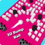 3D Bump Ball: Push The Hurdle Ball Moving Game  APK (MOD, Unlimited Money) 1.4.1