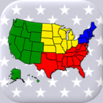 50 US States Map, Capitals & Flags – American Quiz  APK (MOD, Unlimited Money) 3.1.0