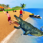 Angry Crocodile Family Simulator: Crocodile Attack  APK (MOD, Unlimited Money) 1.0