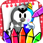 BS Stars Coloring book : Brawl color pages APK (MOD, Unlimited Money) 10.0