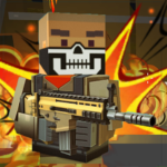 Blocky shooting war game: combat cubic arena 1.10 APK (MOD, Unlimited Money)