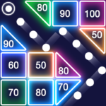 Bricks Breaker – Glow Balls 1.13.207 APK (MOD, Unlimited Money)