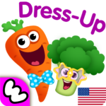 Funny Food DRESS UP games for toddlers and kids!😎 1.3.0.75 APK (MOD, Unlimited Money)