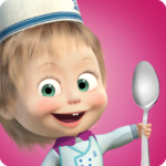 Masha and Bear: Cooking Dash  APK (MOD, Unlimited Money) 1.3.3