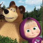 Masha and the Bear. Educational Games  6.4 APK (MOD, Unlimited Money)