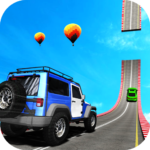 Police Jeep Racing Stunt 3D: 4×4 Ramp Stunt  APK (MOD, Unlimited Money) 1.0