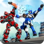 Robot Fight Street Brawl Real Robot Fighting Games  APK (MOD, Unlimited Money) 4.1.0