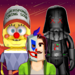 Scary Clown Sponge Vader Neighbor. Escape 1.14 APK (MOD, Unlimited Money)