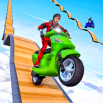 Scooter Stunt Game: GT Racing Impossible Tracks 1.0.3 APK (MOD, Unlimited Money)