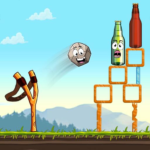 Slingshot Shooting Games: Bottle Shoot Free Games  2.0.066 APK (MOD, Unlimited Money)