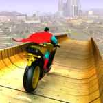 Super Hero Bike Mega Ramp  APK (MOD, Unlimited Money) 4.3
