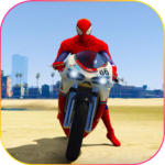 Superhero Tricky bike race (kids games) 1.5 APK (MOD, Unlimited Money)