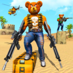 Teddy Bear Gun Strike Game: Counter Shooting Games  APK (MOD, Unlimited Money) 2.7