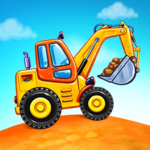 Truck games for kids – build a house, car wash 4.0.13 APK (MOD, Unlimited Money)