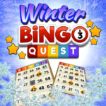 Bingo Quest Winter Wonderland Garden 1.56 APK (MOD, Unlimited Money)